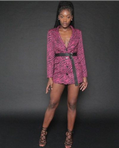 zinunula pink dress